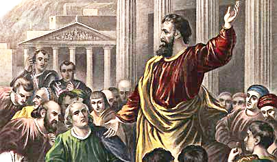 Peter's Great Sermon I (Acts 2:14-41)